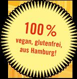 100% Vegan und glutenfrei